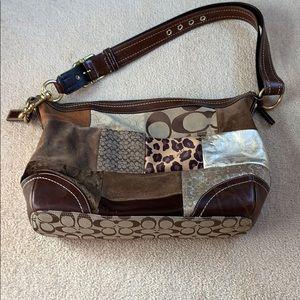 Coach multi print bag
